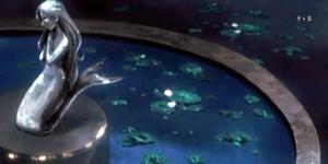 Closeup de la fuente de entrada