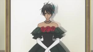 Raven en cosplay de chica...^^